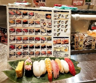 sushi stand grand tasting tokyo